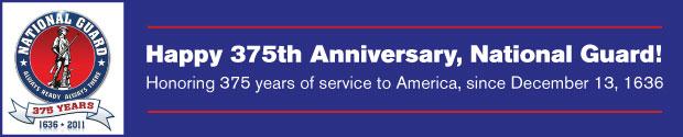 National Guard 375th Anniversary
