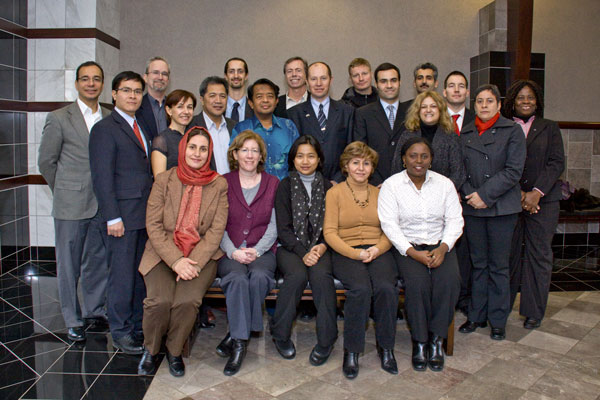Participants from 13 Nations at NIDA Fellowship Orientation