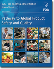 Cover of report Pathway to Global Prodcut Safety and Quality