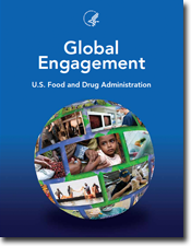 Cover of FDA report on Global Engagement