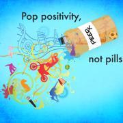 Pop Positivity, Not Pills