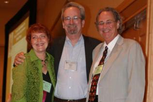 Left to right: Anna Rose Childress, Steve Gust, Robert L. Balster