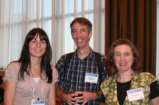 Left to right: Colleen Dell, Andreas Pluddemann, Sarah MacLean