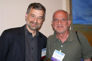 Left to right: Jeffrey Samet and Richard Isralowtiz
