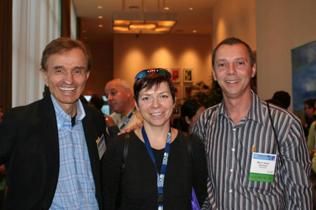 Left to right: Joseph G. Perpich, Maya Rusakova, Mario Sobrinho