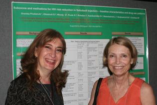 Left to right  Gvantsa Piralishvili, Georgia  Charlotte Royer-Malvestuto, University of Pennsylvania