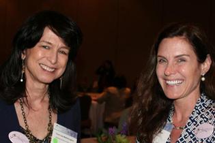Left to right  Cora Lee Wetherington, Ph.D., NIDA  Hendree Jones, Ph.D., RTI International
