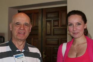 Left to right:  Edwin Zvartua, Russia  Arina Tyurina, Russia
