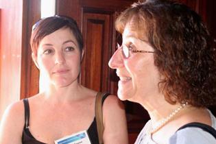 Left to right:  Hetta Gouse, South Africa  Lillian Gelberg, UCLA