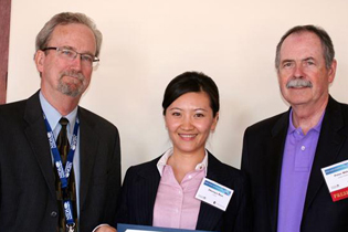 Left to right:  Steve Gust, NIDA  Zhenyu Ren, China  Peter Miller, Medical University of South Carolina