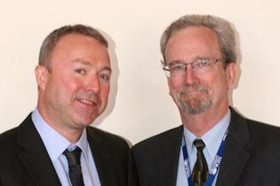 Left to right: Paul Griffiths, EMCDDA Steve Gust, NIDA