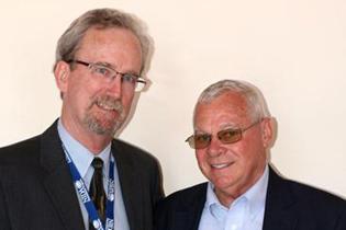 Left to right:  Steve Gust, NIDA  Clyde McCoy, University of Miami