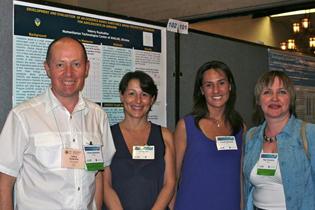 Left to right  Valeriy Ryabukha, Ukraine  Catia Seri, Italy  Claudia Rimondo, Italy Olga Toussova, Russia