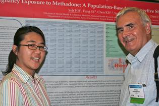 Left to right:  Hsueh-Han Yeh, Taiwan  Victor Chtenguelov, Ukraine