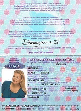 Dating Scam Passport