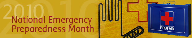 National Emergency Preparedness Month 2010