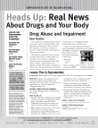 Picture of Heads Up: Real News About Drugs and Your Body- Year 07-08 Compilation for Teachers