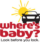 image of vertical Where's Baby? logo
