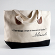 N-17-5287 - Lincoln Quote Tote Bag