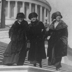 A historic trio of women Members
