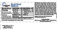 RECALLED - Blue crab spread