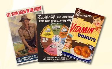 Vintage Poster Collage