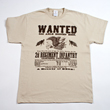 N-17-3009 - Wanted Poster T-Shirt