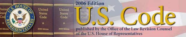 2006 Edition of U.S. Code