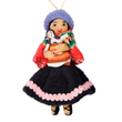 N-20-4278 - Andean Girl Ornament