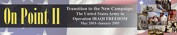 A New Chapter in the History of the Iraq War.