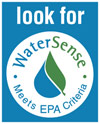Look for the WaterSense label