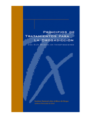 Picture of Principios de Tratamiento para la Drogadiccion: Una Guia (Principles of Drug Addiction Treatment)