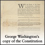 Washington's Copy of the Constitution