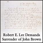 Lee Demands Surrender of Brown