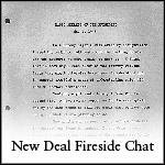 New Deal Fireside Chat