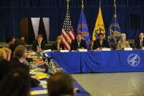 HHS leaders hear Tribal leaders discuss issues in the 2012 Tribal Consultation.