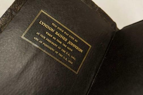 Lyndon B. Johnson's Family Bible