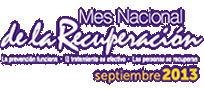 Mes Nacional de la Recuperacion 2013