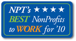 NPT's Best NonProfits to Work for '10