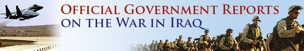 Official Government Reports on the War in Iraq