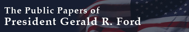 The Public Papers of President Gerald R. Ford