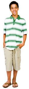 Photograph of a teen boy.