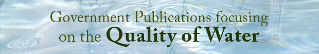 Publications Focusing on the Quality of Water