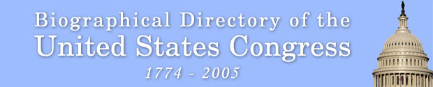 Biographical Directory of the United States Congress, 1775 -2005