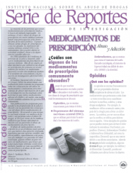 Picture of Serie de Reportes:Medicamentos de Prescripcion Abuso y Adiccion Prescription Drug Abuse & Addiction