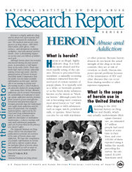 Picture of NIDA Research Report Series: Heroin Abuse and Addiction
