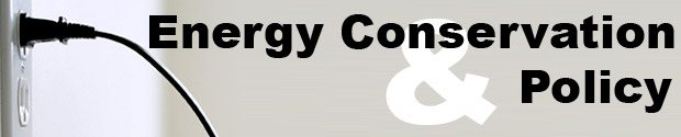 Energy Conservation and Policy Publications