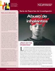 Picture of Serie de Reportes: Abuso de Inhalantes (NIDA Research Report Series: Inhalant Abuse Spanish Version)