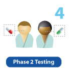 Phase 2 Clinical Trial Icon