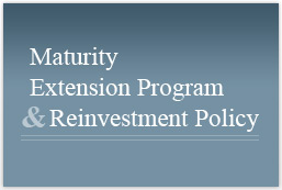 MEP: Maturity Extension Program and Reinvestment Polic